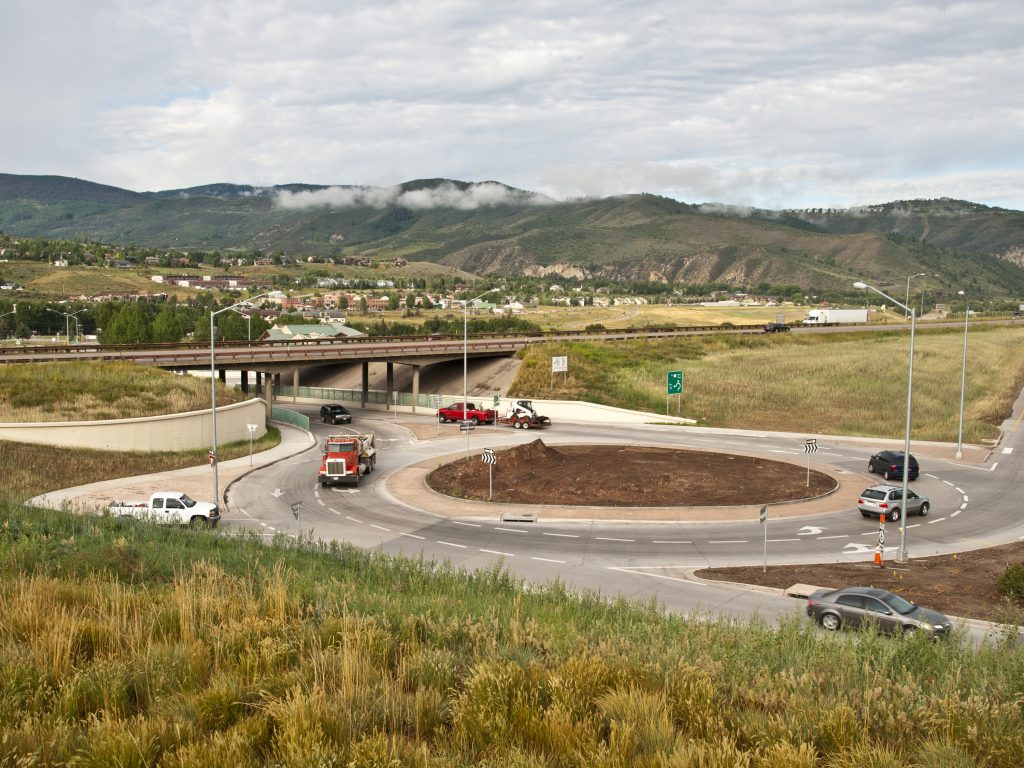 Edwards Interchange Roundabout